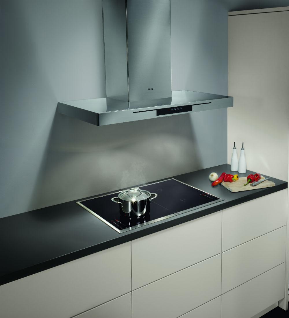 AEG kookplaat en koelkast