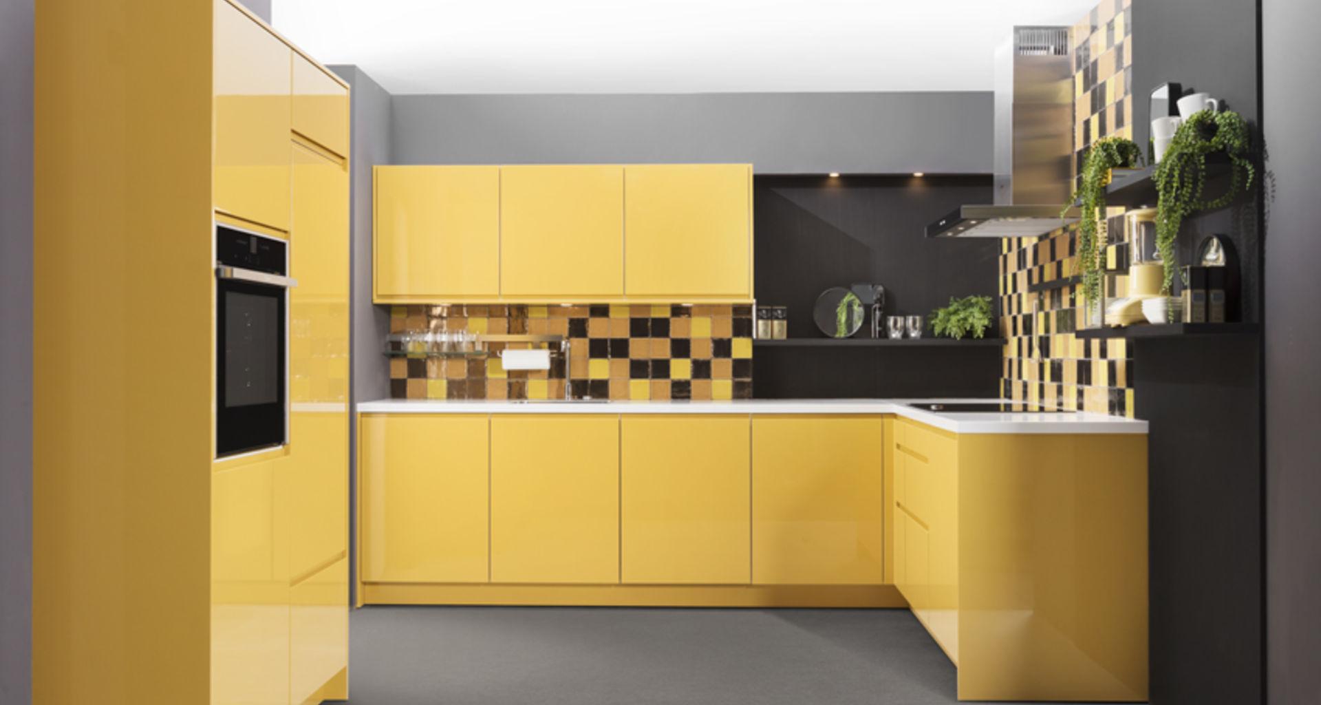 Gele keuken
