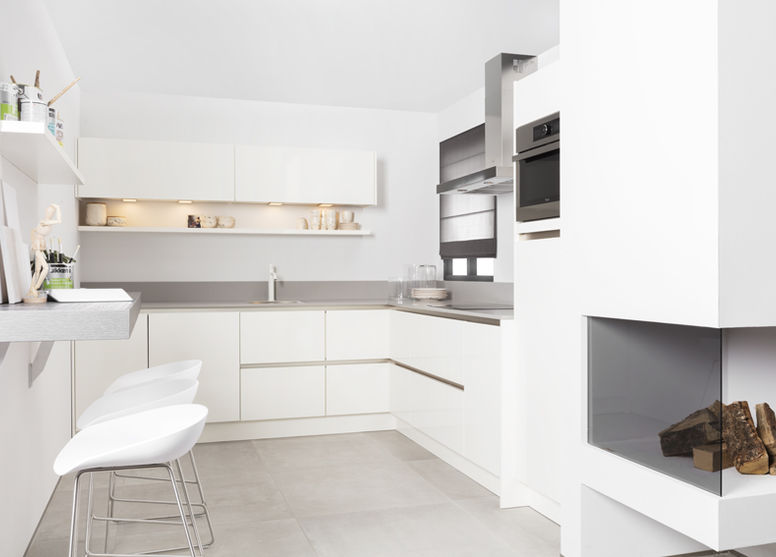 Greeploze keukens voor een strakke look