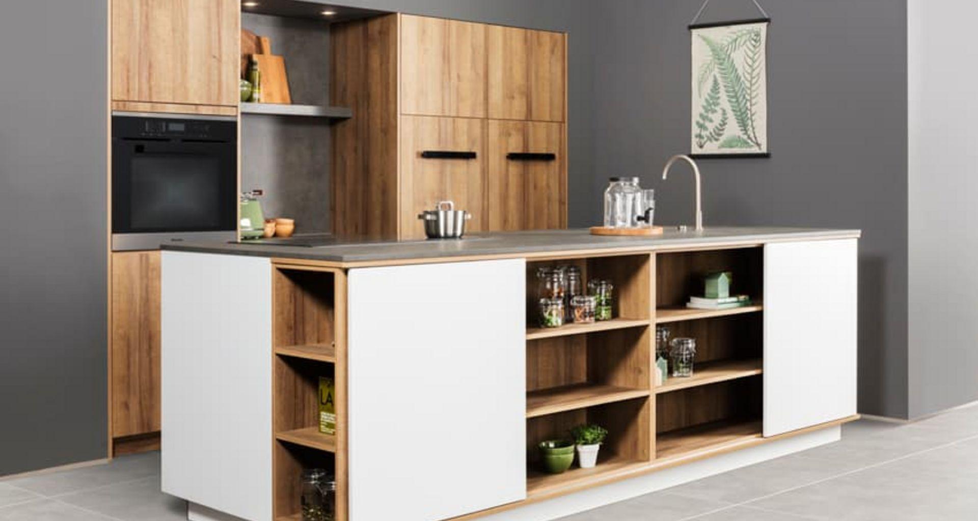 Keuken van natuurlijke materialen