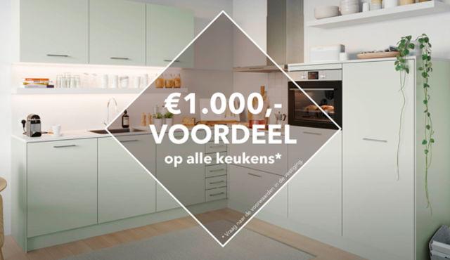 Actie Keukens Ede : Tulp keukens unieke keukens uit eigen fabriek