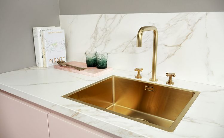 gouden kraan keuken