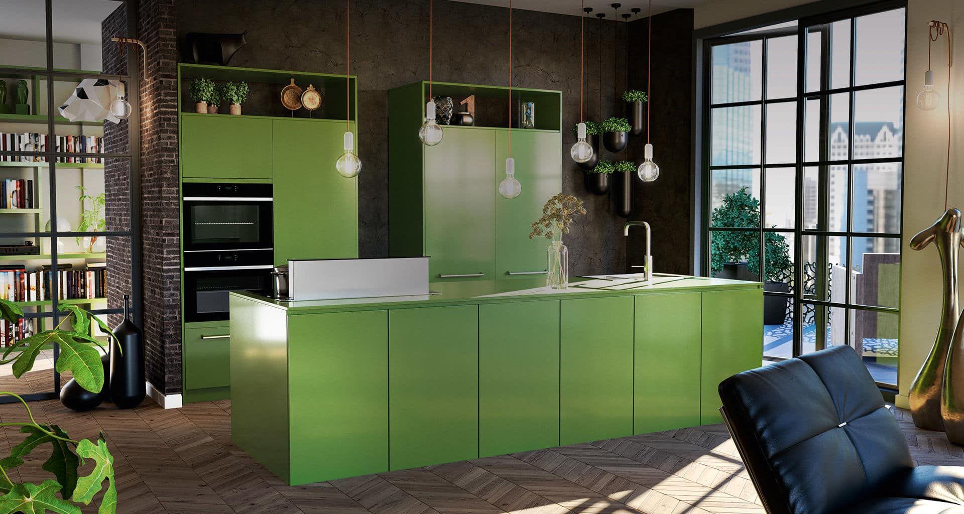 Groene keuken Tulp