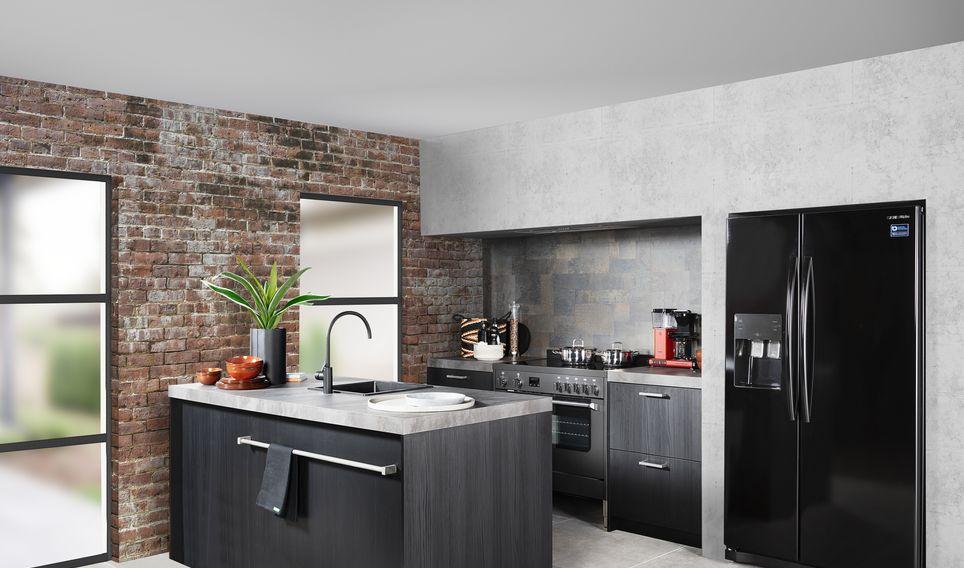 Tulp keuken donker