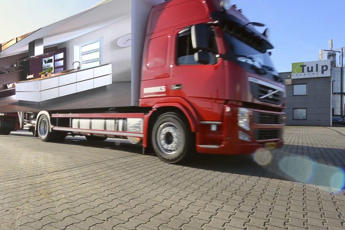 Vrachtwagen Tulp Keukens