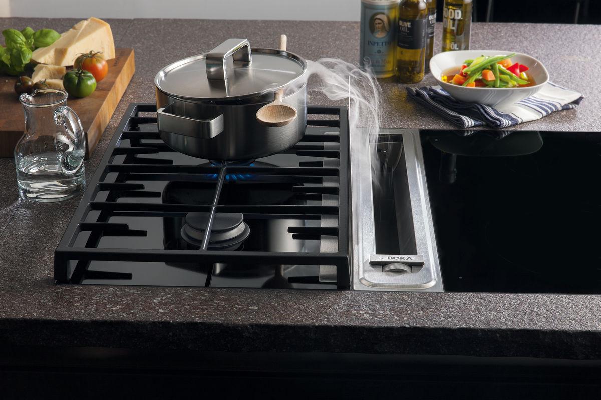 Bora kookplaat met afzuigkap