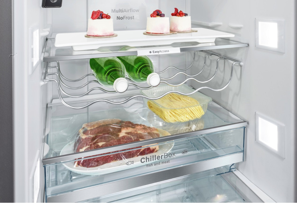 Bosch koelkast inhoud