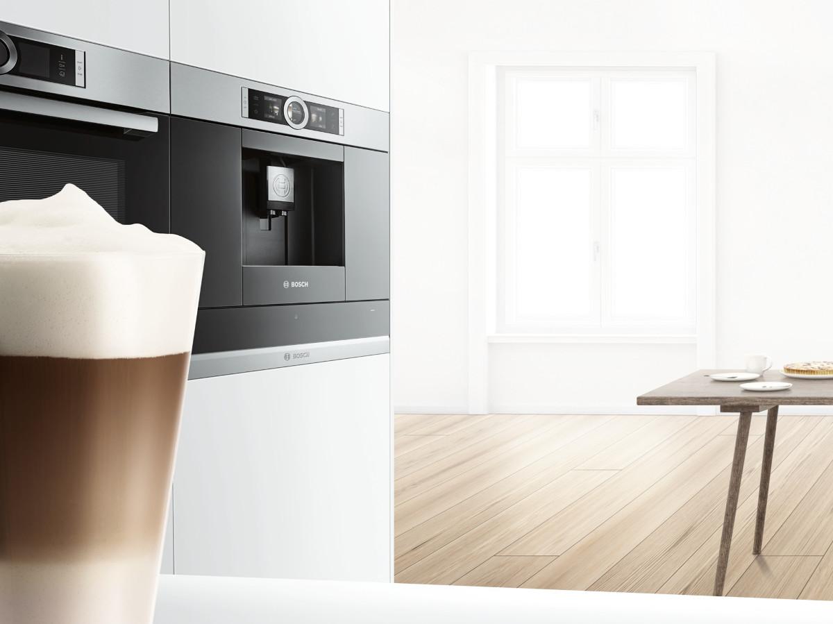 Inbouw koffieautomaat