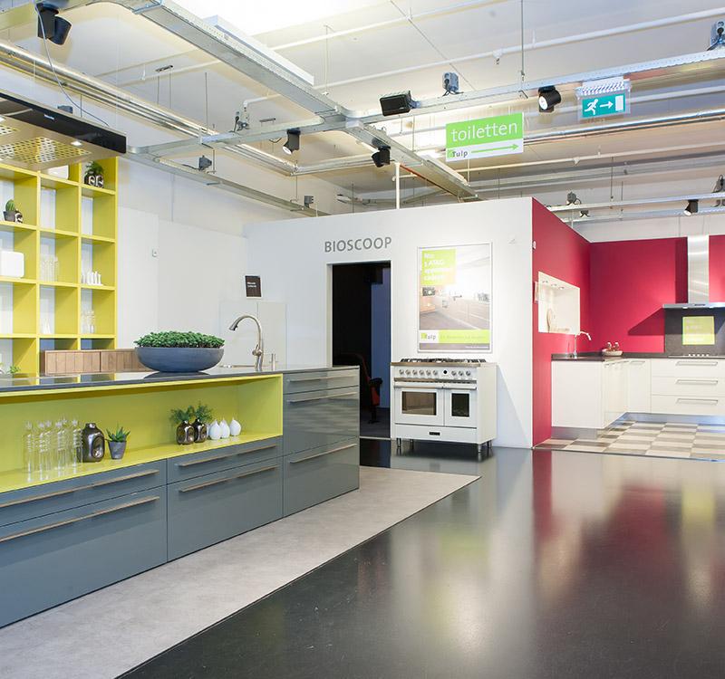 Onze showroom in Amsterdam | Tulp Keukens