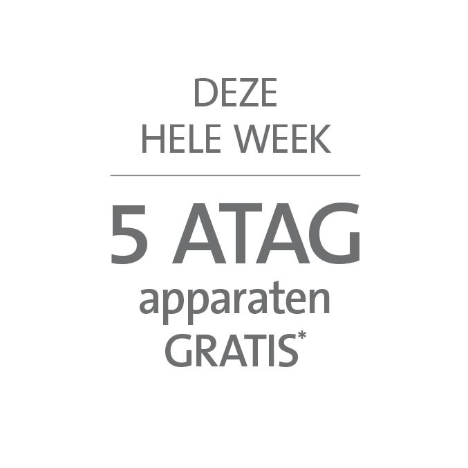 5 ATAG apparaten gratis